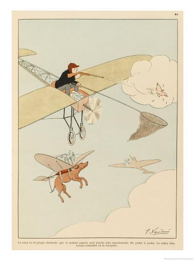 Hunting was Never Like This-Joaquin Xaudaro-Giclee Print