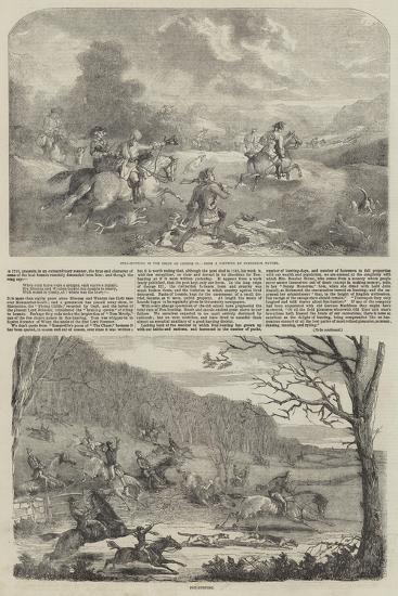 Hunting--Giclee Print