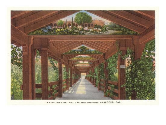 Huntington Library Grounds, San Marino, California--Art Print