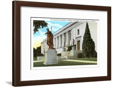 Huntington Library, San Marino, California--Framed Art Print