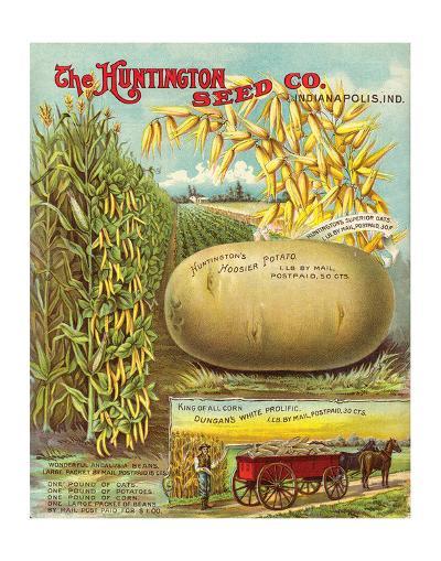 Huntington Seed Indianapolis--Art Print