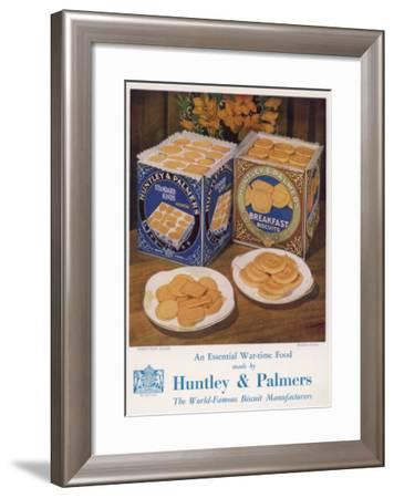 Huntley and Palmer--Framed Giclee Print