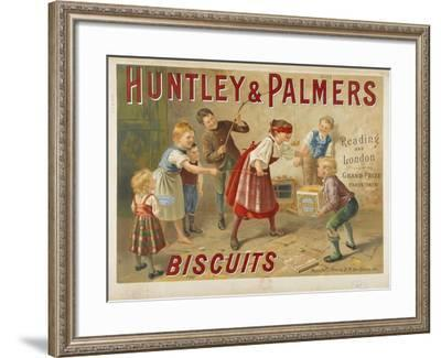 Huntley and Palmers, biscuits. Reading and London. Grand prize, Paris 1878--Framed Giclee Print