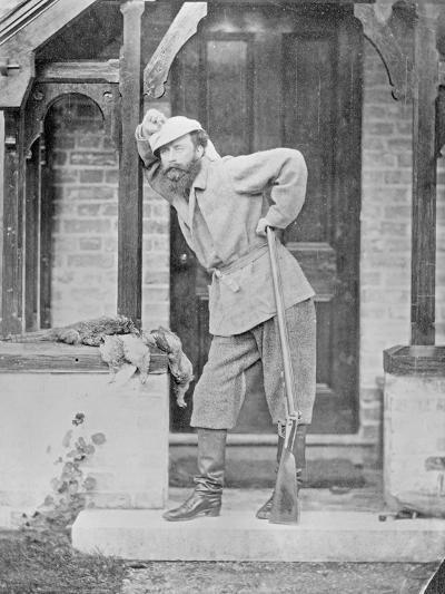 Huntsman with Dead Game, C.1865-Augusta Crofton-Giclee Print