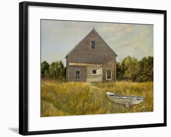 Huppers Barn-Jerry Cable-Framed Giclee Print