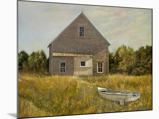 Huppers Barn-Jerry Cable-Mounted Giclee Print