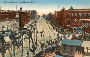 Huron Avenue, Port Huron, Michigan