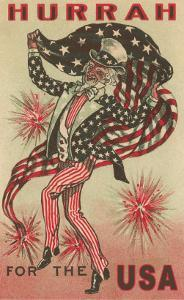 Hurrah for the USA, Prancing Uncle Sam