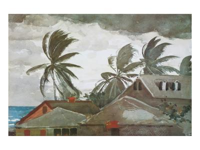 Hurricane, Bahamas, c.1898-Winslow Homer-Premium Giclee Print