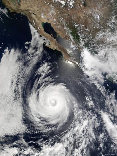 Hurricane Douglas-Stocktrek Images-Photographic Print