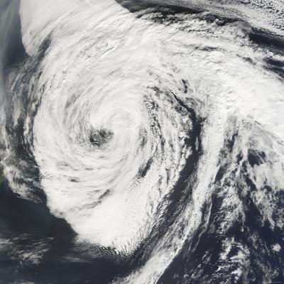 Hurricane Florence-Stocktrek Images-Photographic Print