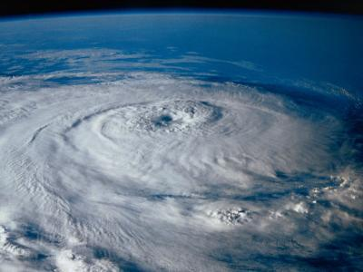 Hurricane from Outer Space-Scott Berner-Photographic Print