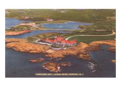Hurricane Hut, Ocean Drive, Newport, Rhode Island--Art Print