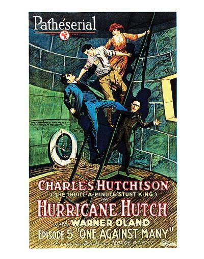 Hurricane Hutch - 1921 III--Giclee Print