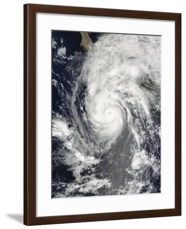 Hurricane Jimena Approaching Baja California--Framed Photographic Print