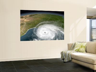 Hurricane Rita--Wall Mural