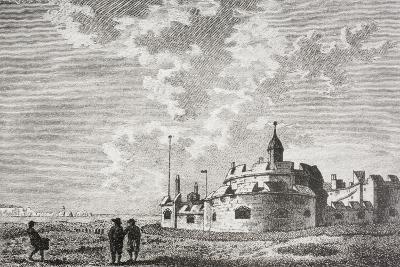 Hurst Castle--Giclee Print