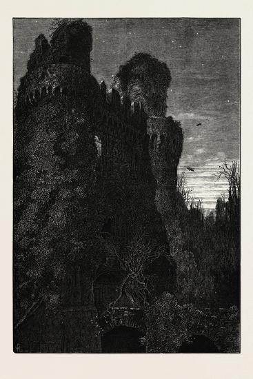 Hurstmonceaux Castle, Uk, 19th Century--Giclee Print