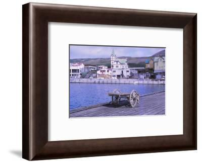 Husavik, a fishing town, Northern Iceland, 20th century-CM Dixon-Framed Photographic Print