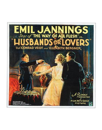 Husbands Or Lovers - 1924 I--Giclee Print