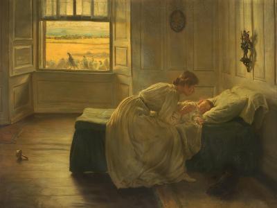 Hush, 1905–-06-John Henry Lorimer-Giclee Print
