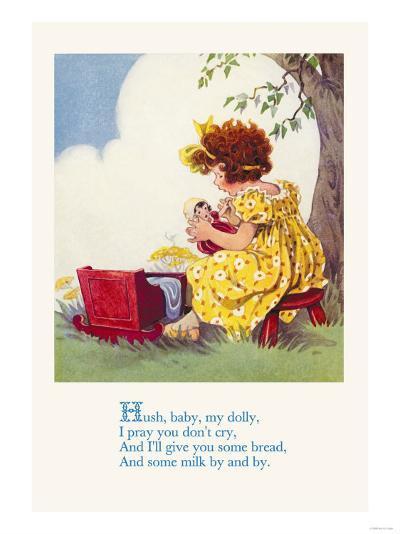 Hush, Baby, My Dolly--Art Print