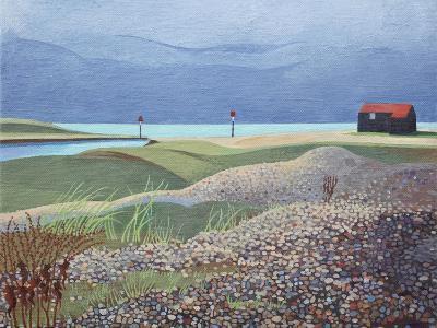 Hut, Rye Harbour-Anna Teasdale-Giclee Print