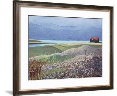 Hut, Rye Harbour-Anna Teasdale-Framed Giclee Print