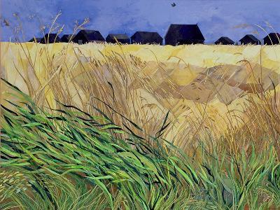 Huts at Walberswick, Suffolk-Christine McKechnie-Giclee Print
