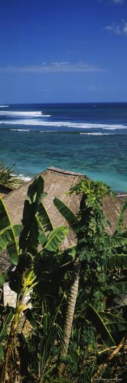 Huts on the Beach, Bingin Beach, Bali, Indonesia--Photographic Print