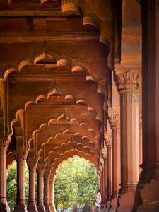 Diwani Am or Hall of Public Audience in the Red Fort by Huw Jones