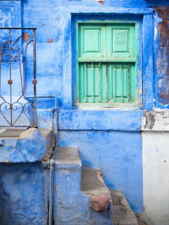 Traditional Blue Architecture of Jodhpur
