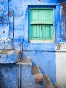 Traditional Blue Architecture of Jodhpur by Huw Jones