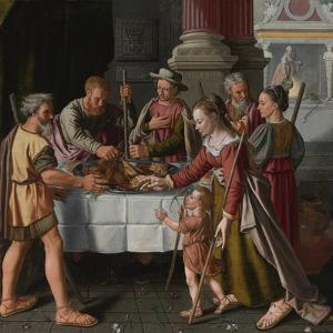 The First Passover Feast by Huybrecht Beuckelaer