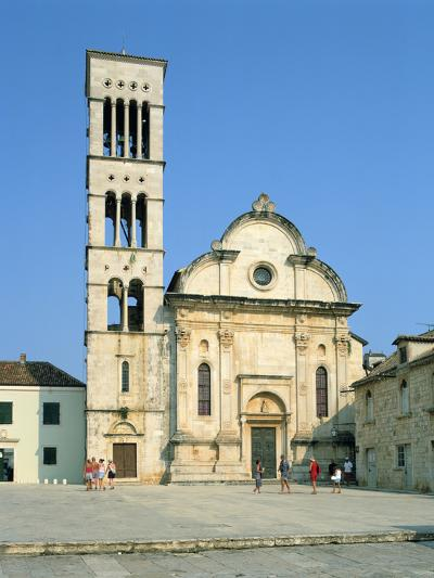 Hvar Cathedral, Croatia-Peter Thompson-Photographic Print