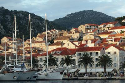 Hvar Harbor, Dalmatian Coast, Croatia-George Oze-Photographic Print