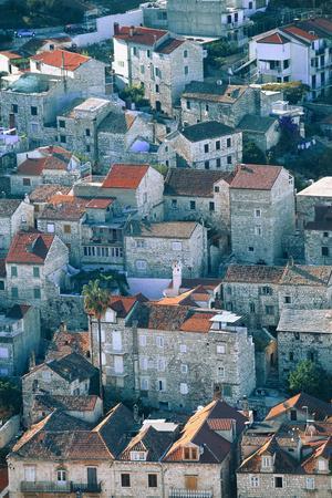 Hvar in Croatia-Peter Adams-Photographic Print