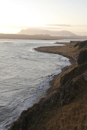 Hvitserkur Area, Hunafjšrdur, Hunafloi Bay, Vatnsnes Peninsula, North Iceland-Julia Wellner-Photographic Print