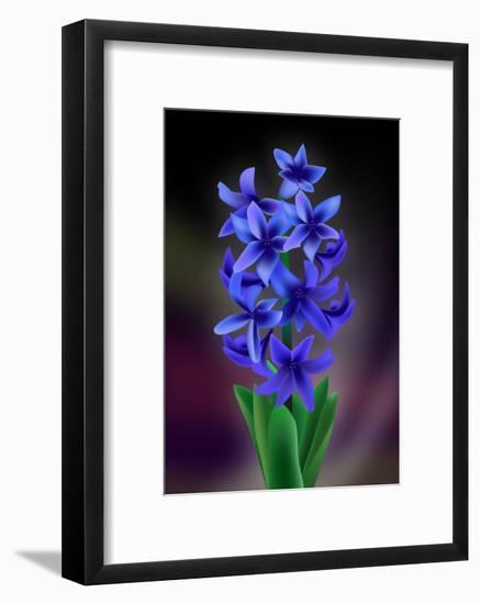 Hyacinth-Ikuko Kowada-Framed Giclee Print