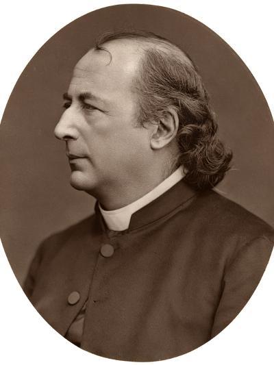 Hyacinthe Loyson (Pere Hyacinth), French Catholic Priest, 1876-Lock & Whitfield-Photographic Print