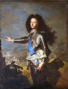 Louis De France, Duke of Burgundy by Hyacinthe Rigaud