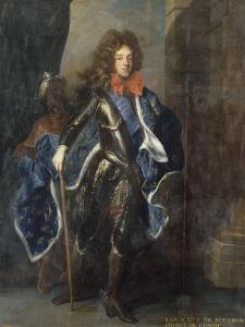 Louis III de Bourbon, 6ème prince de Condé en 1709 (1668-1710) représenté e by Hyacinthe Rigaud
