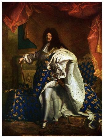 Louis XIV, King of France, 1701