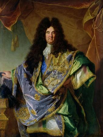 Portrait of Philippe De Courcillon (1638-1720) Marquis De Dangeau, 1702