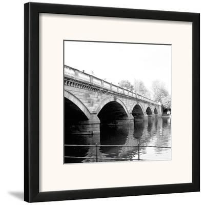 Hyde Park Bridge-Emily Navas-Framed Art Print