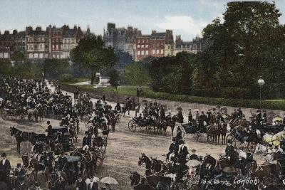 Hyde Park Corner, London--Photographic Print