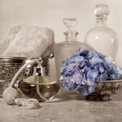 Hydrangea and Atomizer-Julie Greenwood-Art Print