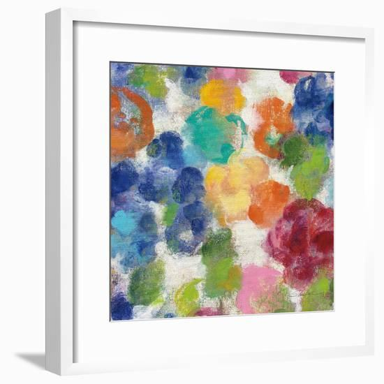 Hydrangea Bouquet I Square II-Silvia Vassileva-Framed Art Print