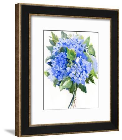 Hydrangea Flowers 4-Suren Nersisyan-Framed Art Print