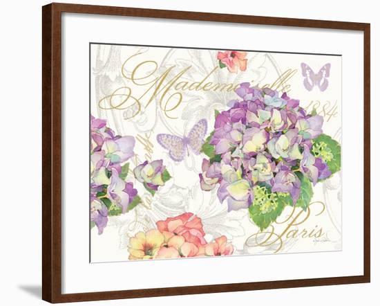 Hydrangea Mademoiselle-Julie Paton-Framed Art Print